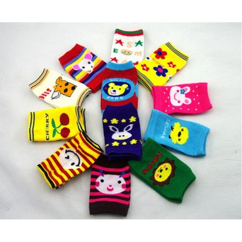 Baby Infant Safety Crawling Short Knee Socks