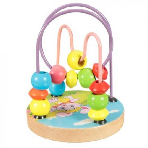 Children Kids Baby Colorful Beech Wood Mini Around