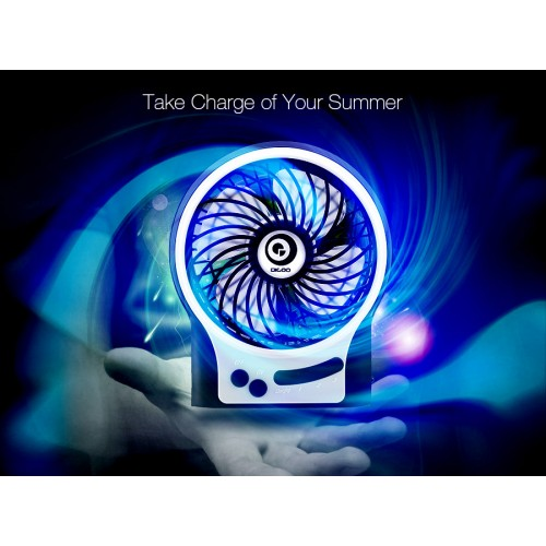 Portable Rechargeable Multifutinal USB Cooling Fan