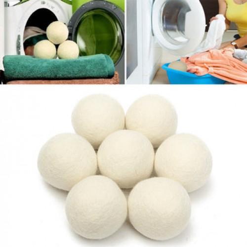 Wool Dryer Ball Reusable Natrual Fabric Softener Balls