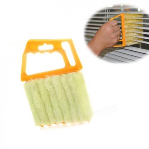 Mini 7 Hand Held Microfibre Venetian Blind Brush Window Air