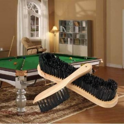 Wooden Cleaning Rail Felt Brush For Cue Sport Billiards
