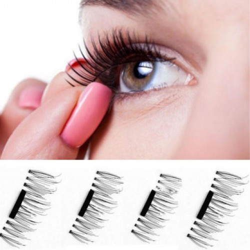 Reusable Magnetic Eye Lashes Black Thicker