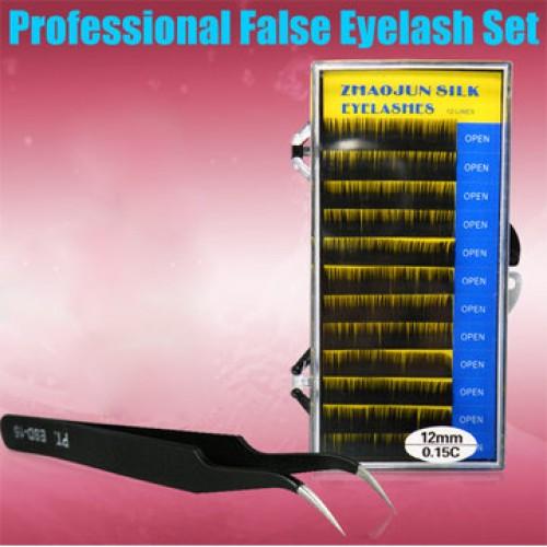 False eye Lash Black Eyelash Extensions Makeup