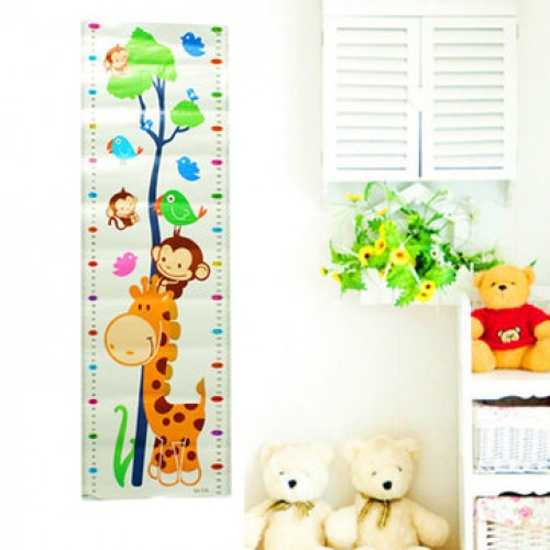 Children's Height Sticker Bedroom Living Room