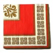 20PCS Euro Style Printed Paper Napkins Serviettes