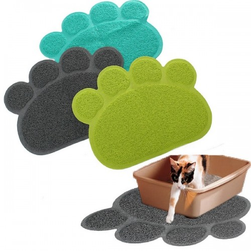 Pet Dog Puppy PVC Cat Dish Bowl Feeding