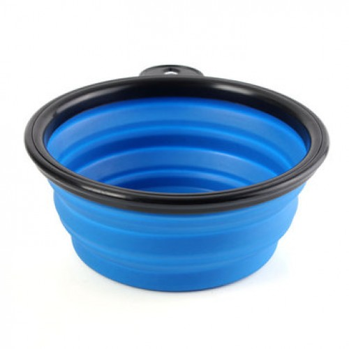 Collapsible Pet Travel Bowl Foldable Dog