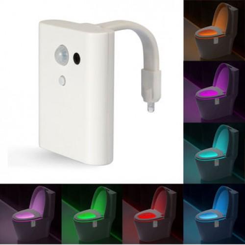 Intelligent Closestool Induction Sense LED Night Light
