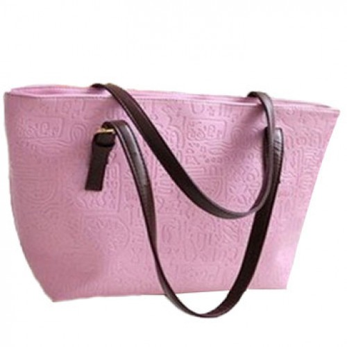 PU Leather Vintage Oracle Candy Color Tote