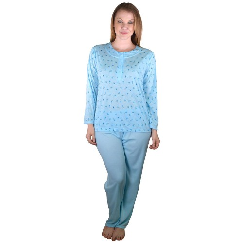Plus Size Printed and Plain Night Suit Set