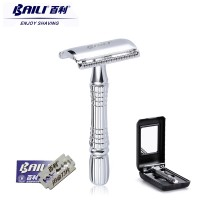 2017 BAILI Upgrade Wet Shaving Safety Razor Blade