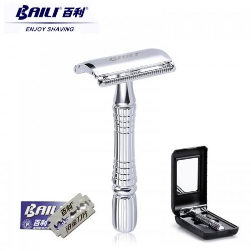 2017 BAILI Upgrade Wet Shaving Safety Razor Blade