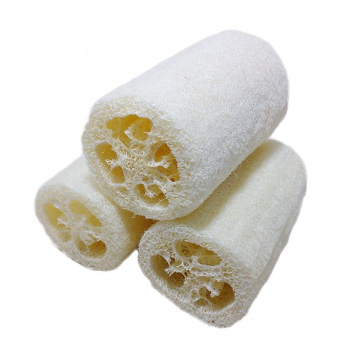 3PCS Natural Loofah Bath Shower Sponge Spa
