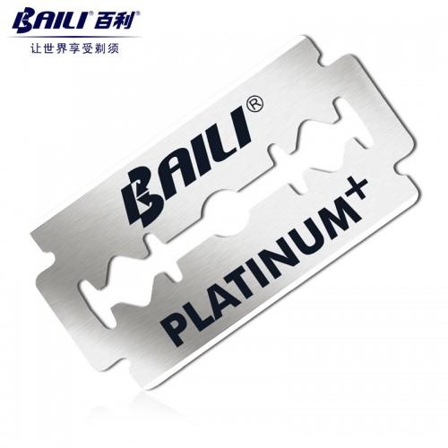 BAILI 10pcs Men's Barber Super Sharp Razor