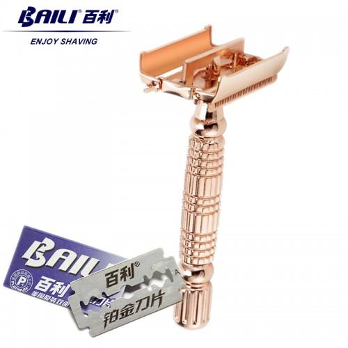 BAILI Classic Barber Manual Shaving Safety Blade