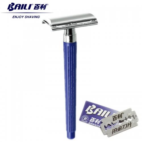 BAILI Classic Durable Stainless Plastic Manual Men's