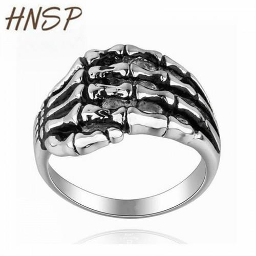 100% Stainless Steel Skull finger hand
