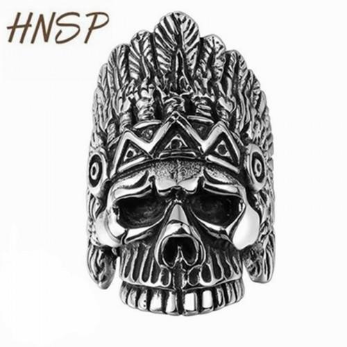 100% Stainless steel Skull Finger ring