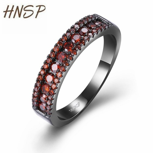 2017 New Black copper metal AAA CZ stong