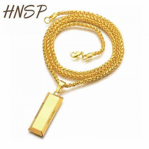 727mm chain length Gold Silver Color Link Chain