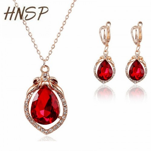 AAA Cubic Zirconia crystal Red glass