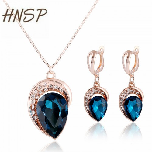 Classic Water Drop Pendant Necklace
