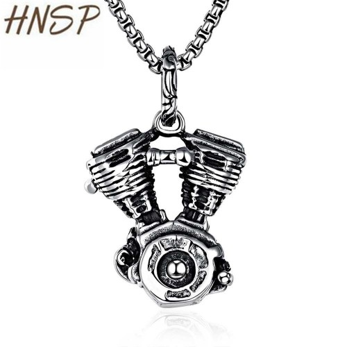 HNSP New Fashion 100% 316L stainless steel chain