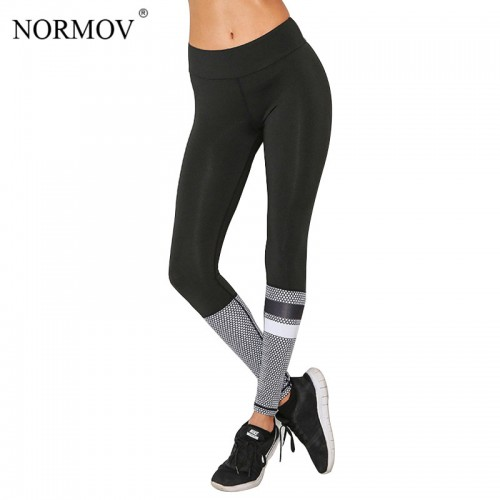 Normov Fashion Push Up Workout Leggings Women