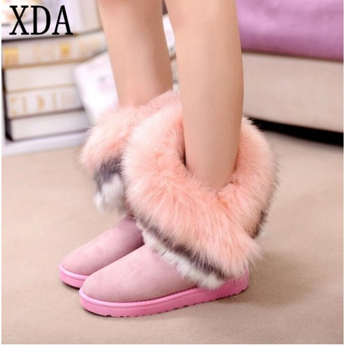 2017 new fashion winter women snow boots