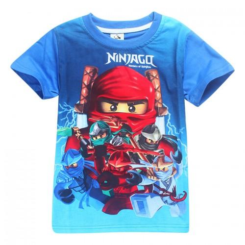 Blue Boys T-shirts Bobo Choses Boy Shirt Children T Shirt