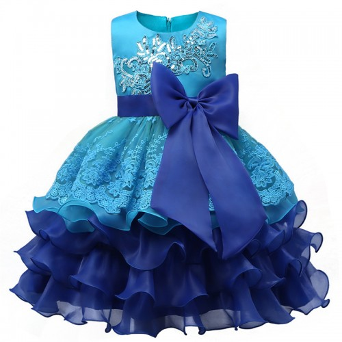 Brand Children Kids Layered Dresses