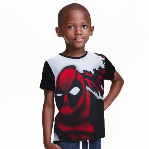 Deadpool t shirt kids superheros tops for children boys