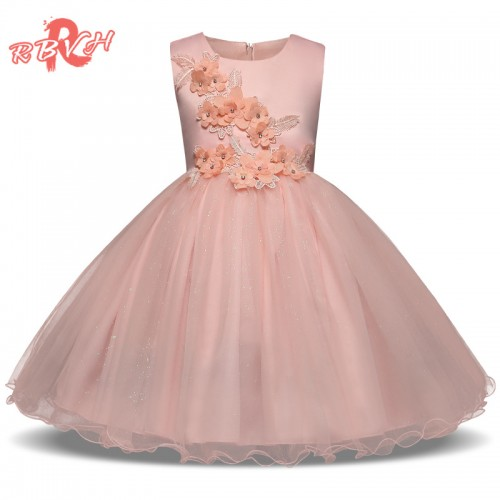 Elegant Princess Costume For Girls Kids Party Wear Clothes