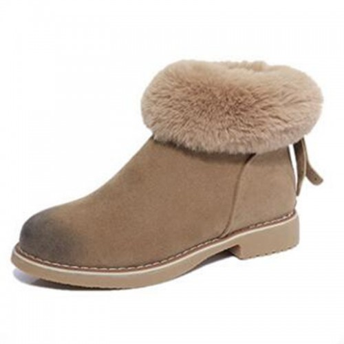 Fashion Women Winter Boots Female Snow Plush Ankle Boots