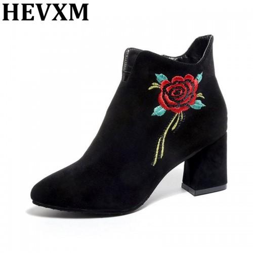 HEVXM 2017 Winter Women Brand Shoes