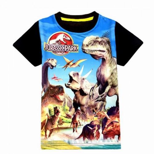 Jurassic World dinosaur children boys t shirt