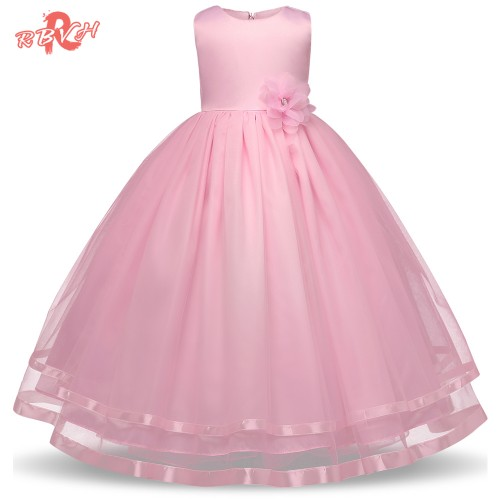 RBVH Summer Flower Girl Wedding Dresses Princess Dress