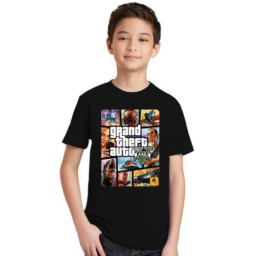 Summer Kids Boys Girls T Shirt 1 gta T-Shirt
