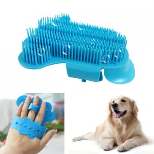 Dog Cat Grooming Brush Cleaning Massage Glove