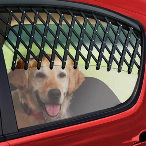 Car Window Pet Gate Lets Fresh Air In Keeps Pets Safe and Cool-Color Random