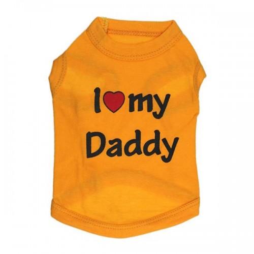 1 Pcs Cotton Pet Vest Shirts Puppy Sleeveless Clothes Summer Apparel Costume