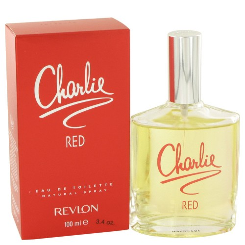 Charlie Red Perfume 3.3 oz Eau De Toilette Spray